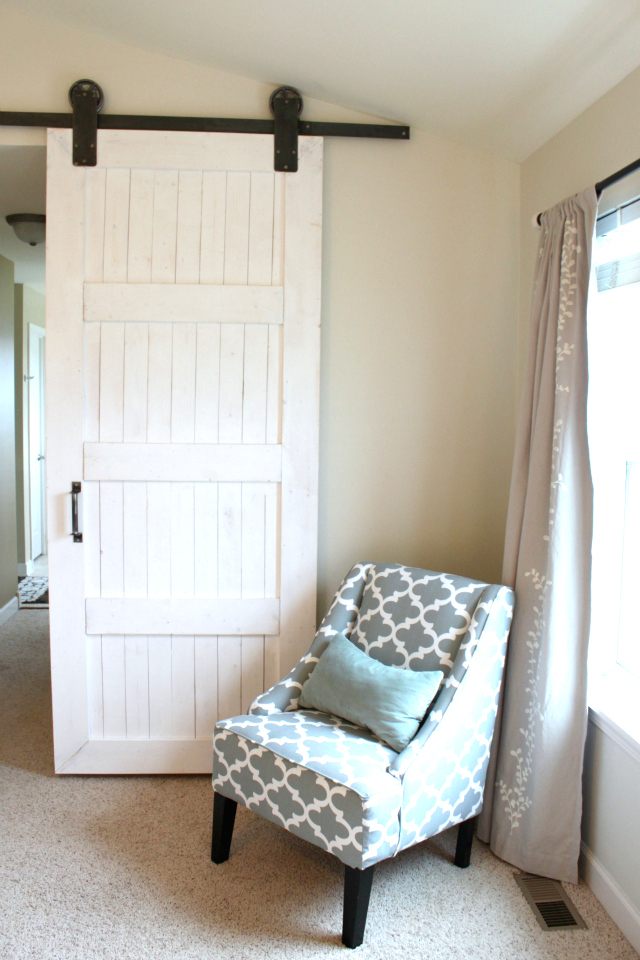 DIY BARN DOOR {FOR A MASTER BEDROOM} — Colors and Craft