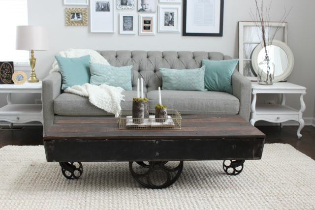 Factory Cart Coffee Table Colors And Craft