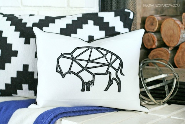 Leather-Geometric-Buffalo-Pillow-1