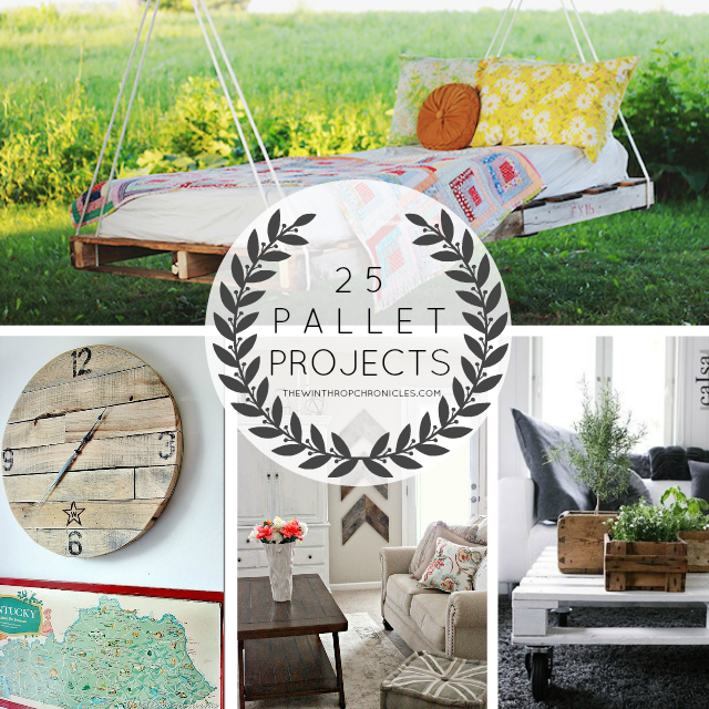 pallet projects collage