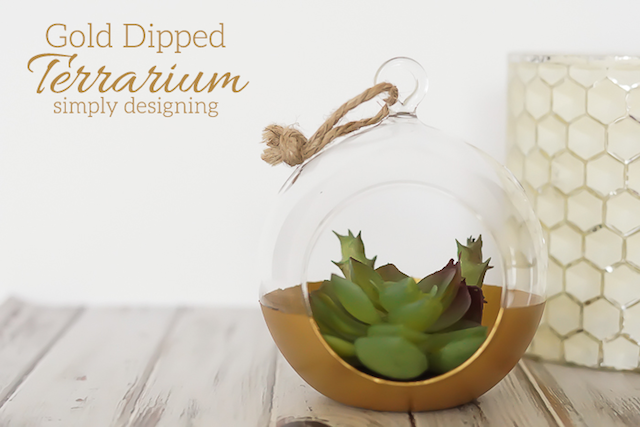 DIY-Gold-Dipped-Terrarium