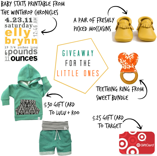 little ones giveaway