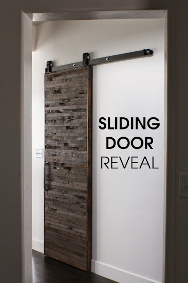 sliding door reveal