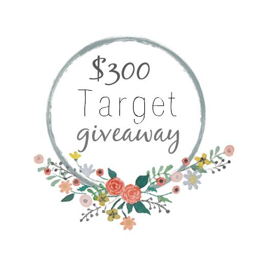 target giveaway