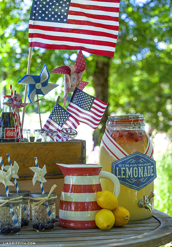 FourthofJulyLemonade