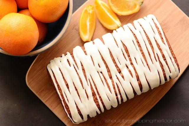 orange loafcake