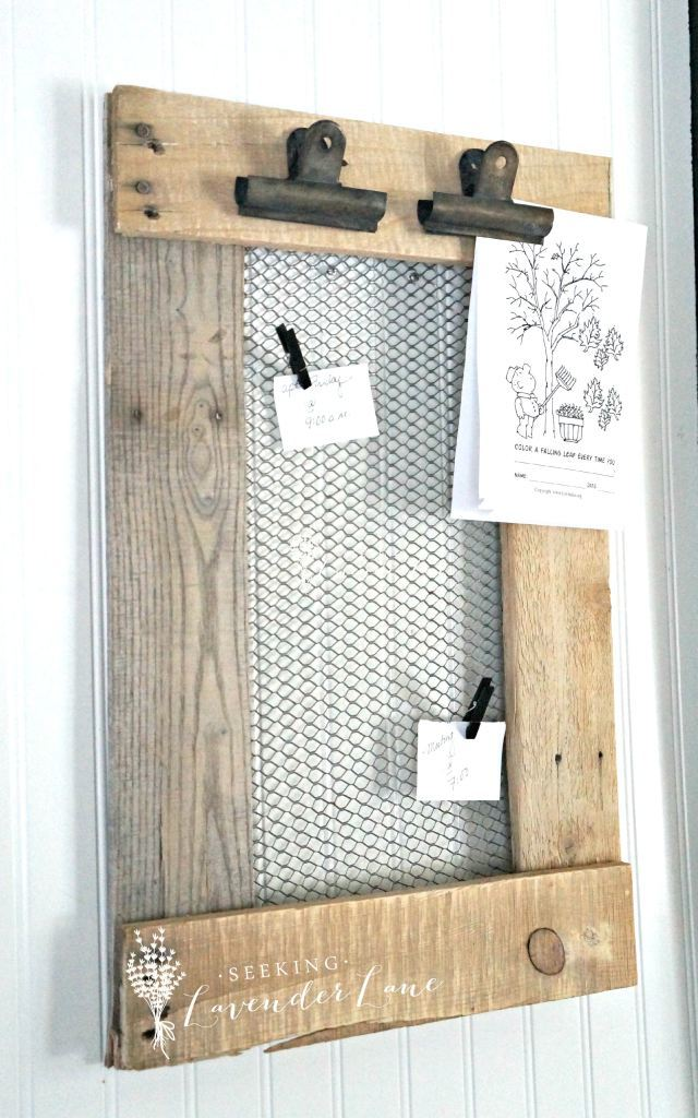 DIY-Farmhouse-Message-Board