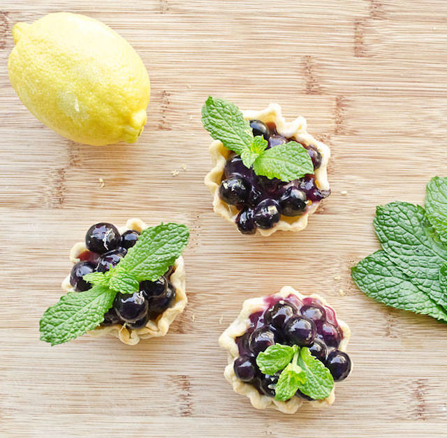 Easy-to-Make-Mini-Blueberry-Pies