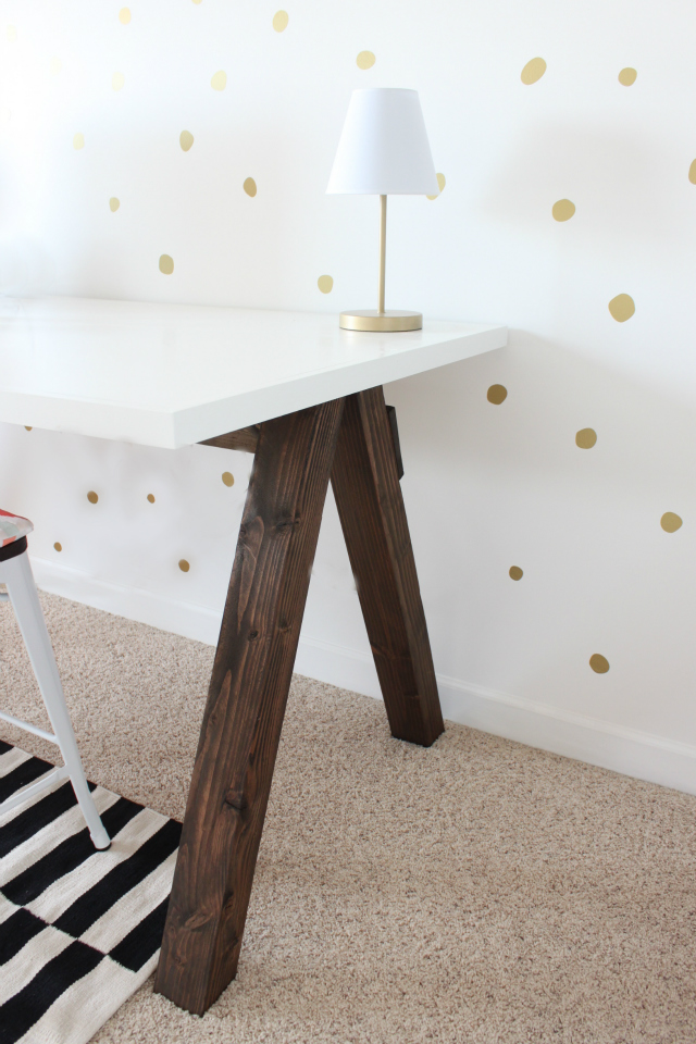 Diy Counter Height Craft Table Colors And Craft
