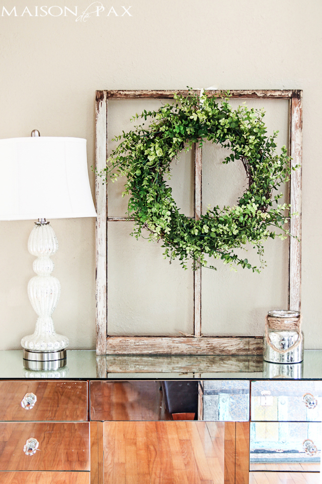 Spring-Living-Room-eucalyptus-wreath