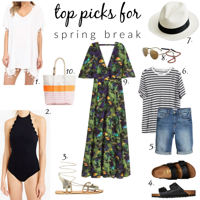 top picks for spring break