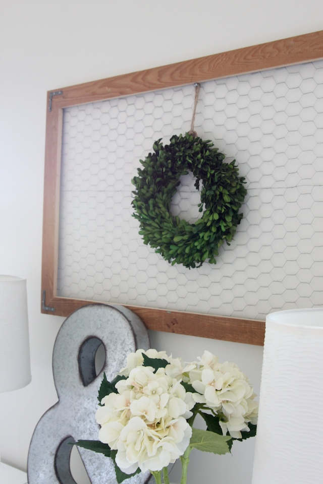 Diy Chicken Wire Display Frame — Colors and Craft