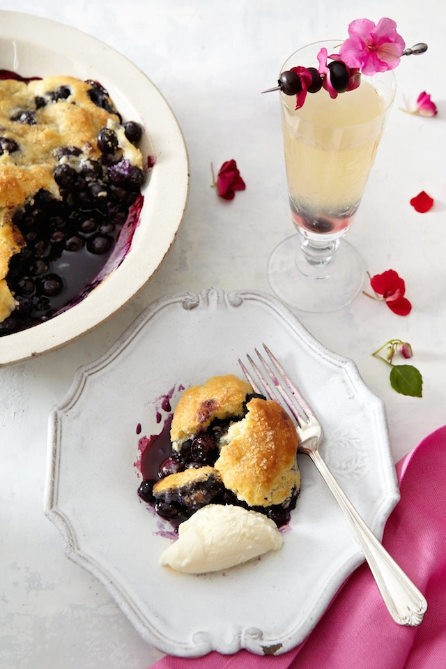 Blueberry Dessert from  All She Cooks
