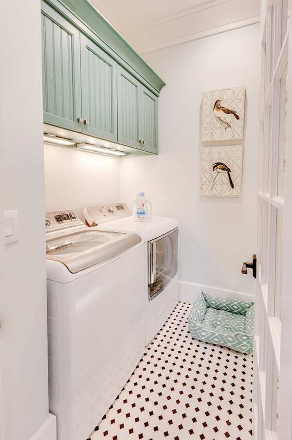 Simply Beautiful Laundry Room
