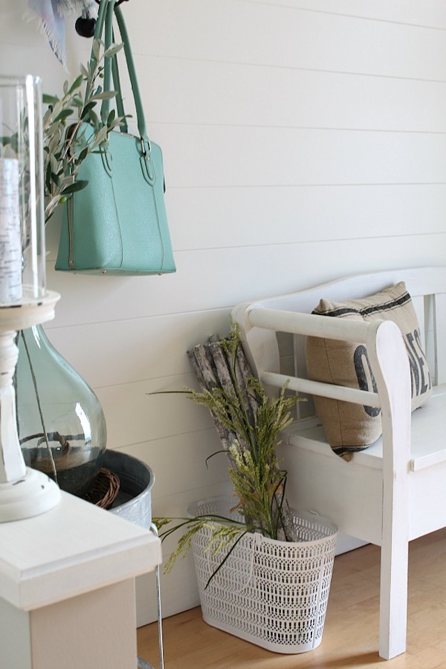 DIY Planked Wall Tutorial from  Clean and Scentsible