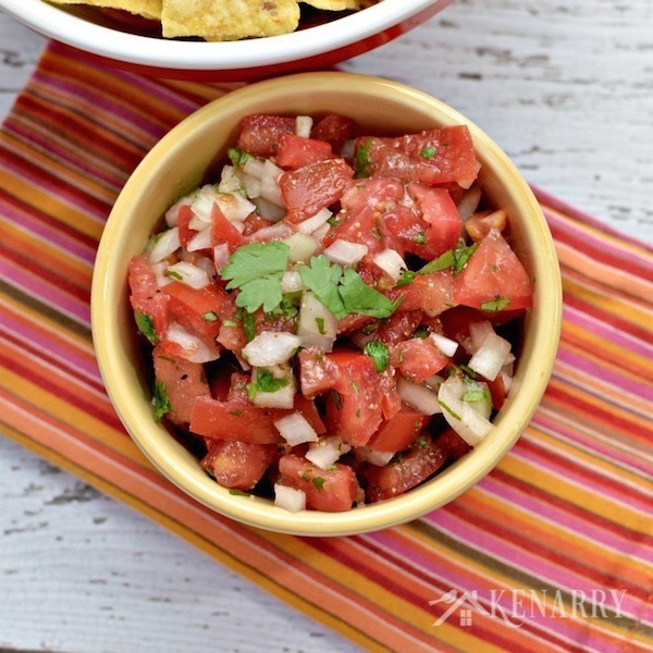 Homemade Pico de Gallo Recipe from Kenarry