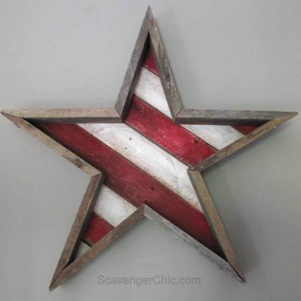 DIY Stars and Stripes