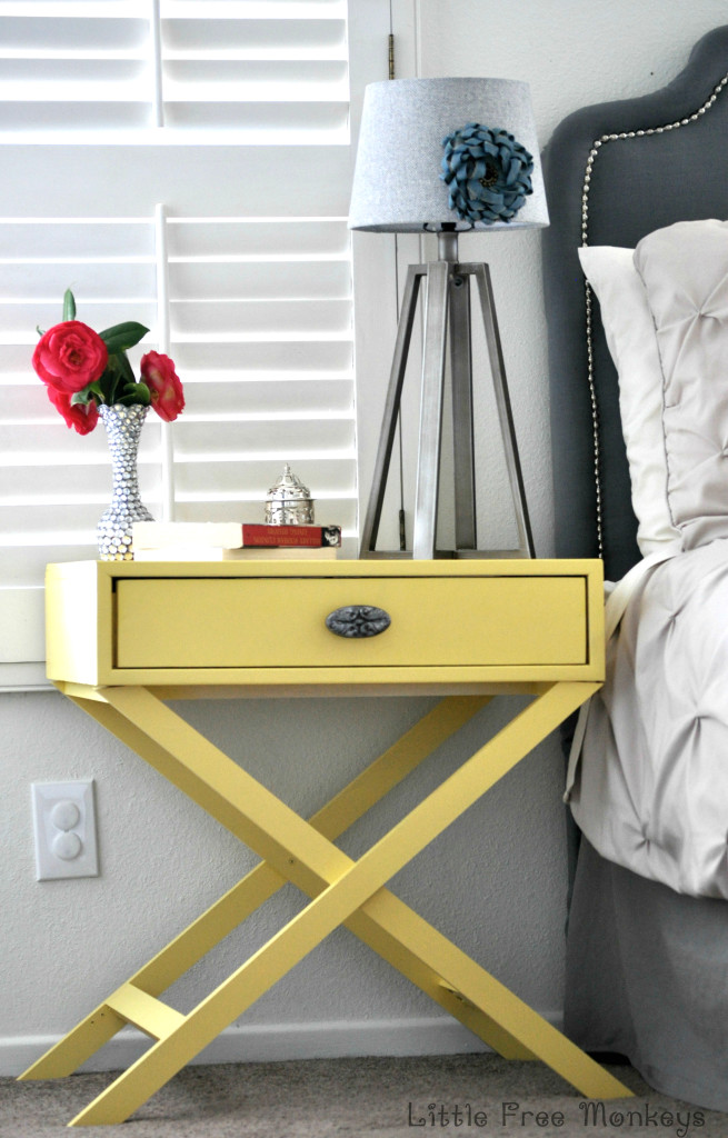 DIY Accent Table from Little Free Monkeys