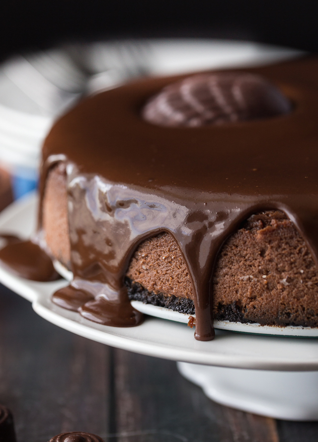Saint Lucian Chocolate Cheesecake from Simply Stacie