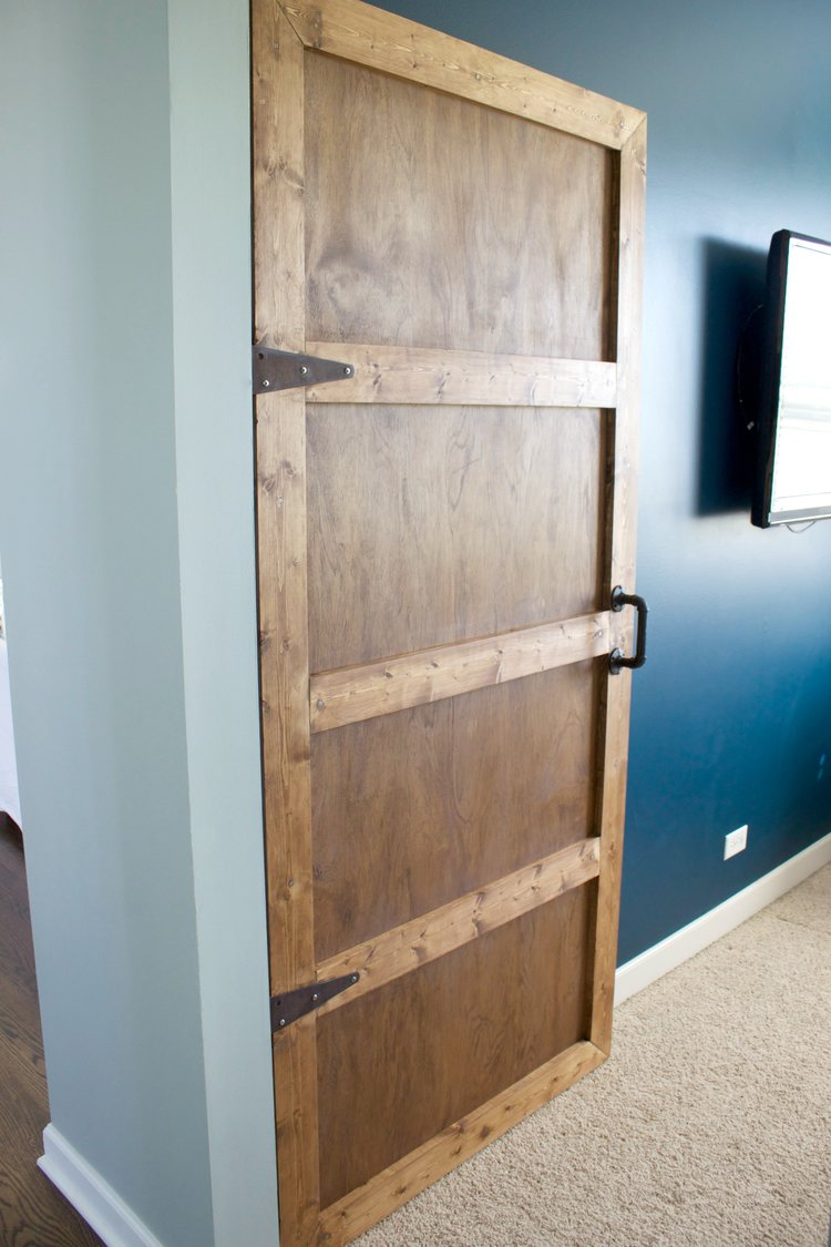 How To Make An Interior Wooden Door — Colors and Craft
