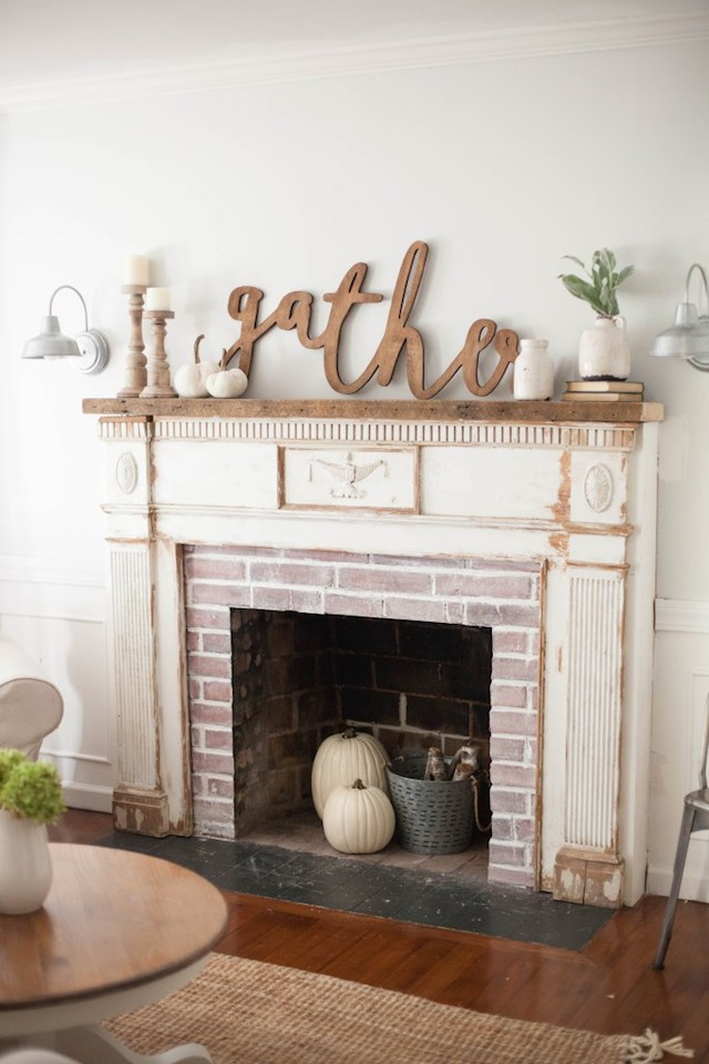 How to install and Antique Mantel from  Lauren Mcbride