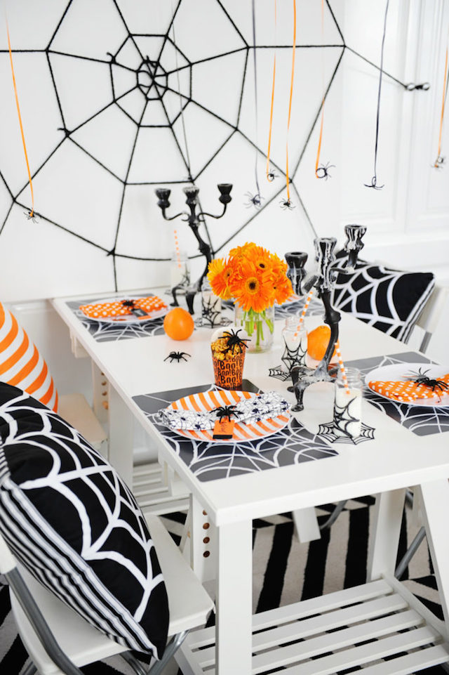 Halloween Party Decor from  Pink Peppermint Design