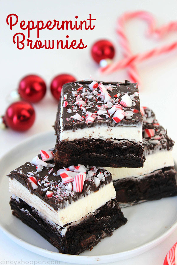 Peppermint Brownies from Cincy Shopper