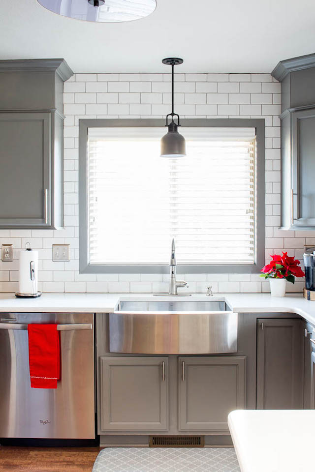 Kitchen Makeover Reveal from  Inspiration for Moms