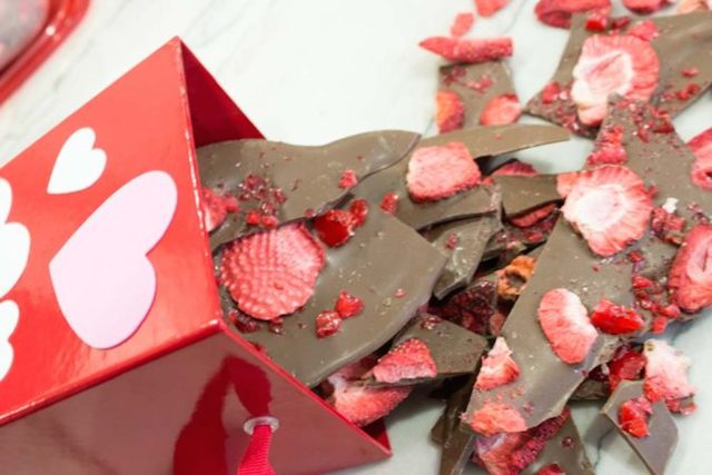 Strawberry Candy Bark from Do It Your Freaking Self