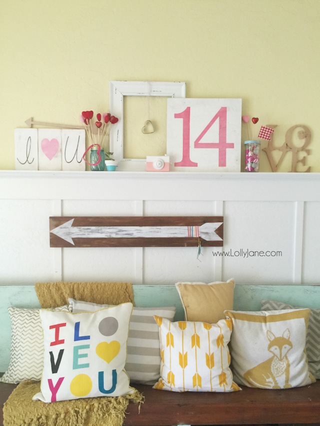 Valentine Mantel from Lolly Jane