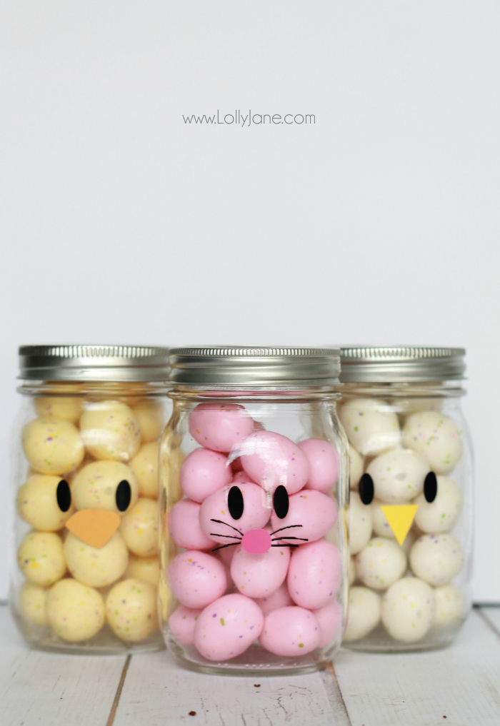 Candy Mason Jars from  Lolly Jane