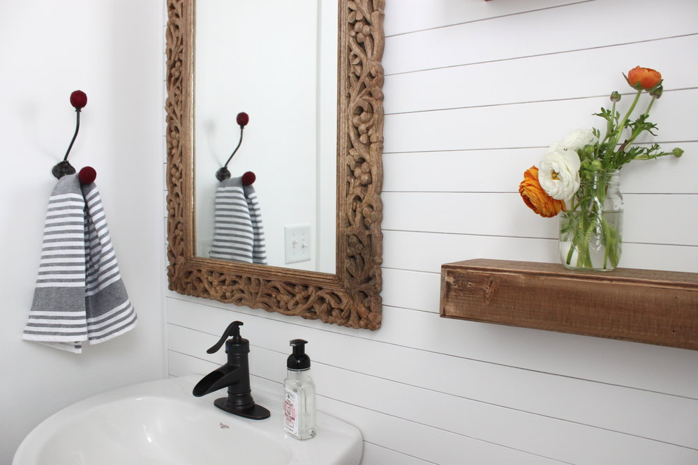 Creating A Farmhouse Inspired Bathroom Colors And Craft