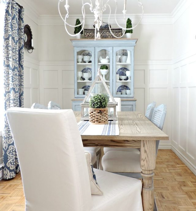 Dining Room Makeover from Rever en Couleur