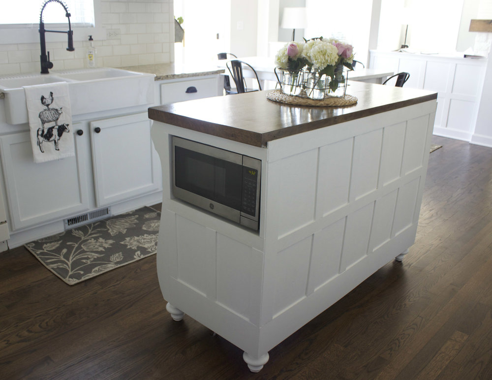 Bon As I Have Shared Before, Our Kitchen Island Is Actually An Antique Hutch  From Our First Home. It Was Left There By The Previous Owners So Itu0027s Our  Little ...
