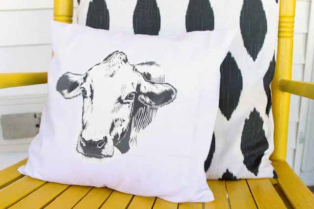 Farmhouse Pillow from  The Country Chic Cottage