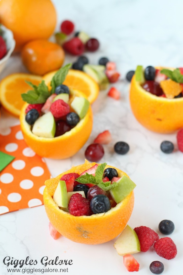 Orange Fruit Cups from Giggles Galore