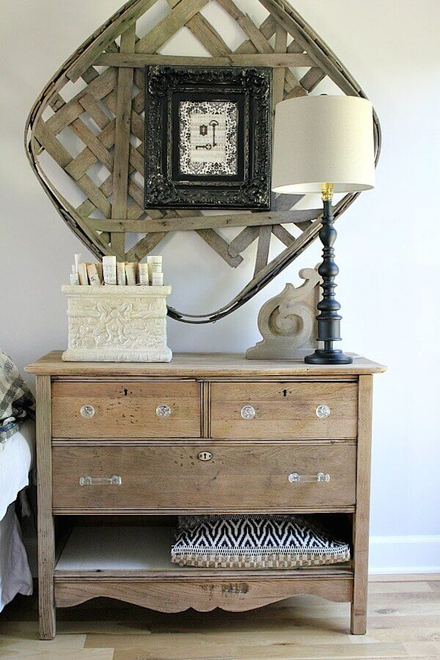 DIY Hutch Makeover from  Noting Grace