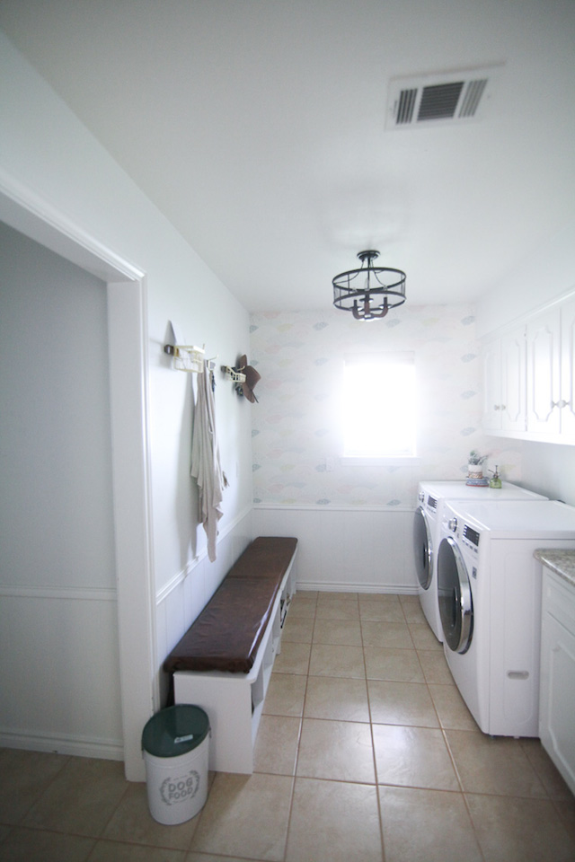 Laundry Room Reveal from  Run to Radiance