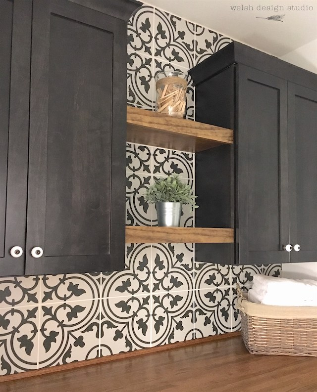 Laundry Room Makeover from  Welsh Design Studio