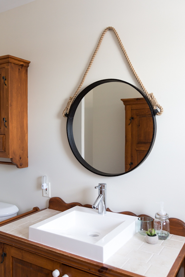 DIY Rope Mirror from  Neli Design