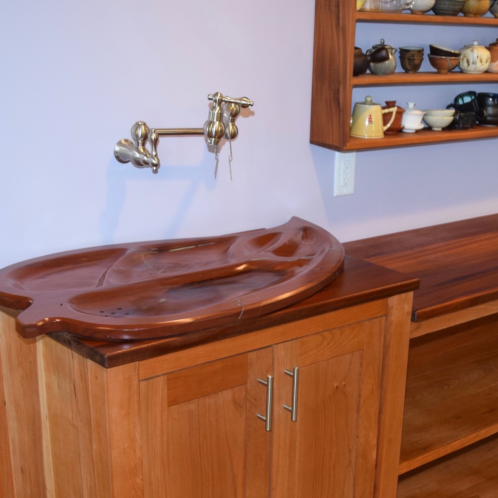 Leaf Designed Sink