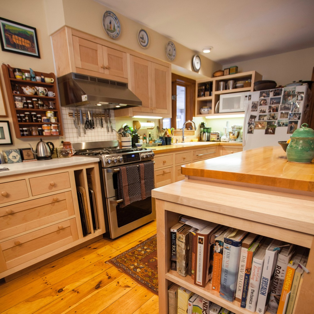 Custom Maple Kitchen Cabinets