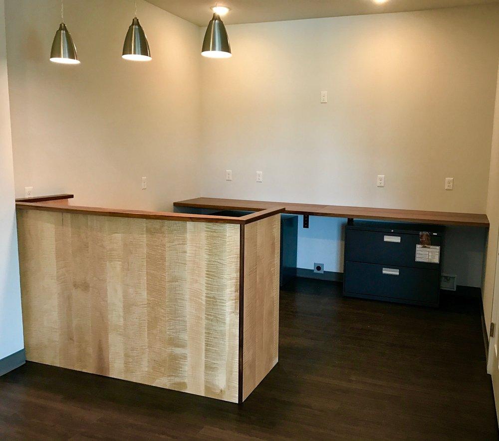 Custom Hotel Lobby Desk