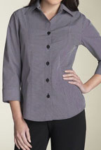 Five Button, 3/4 Sleeve