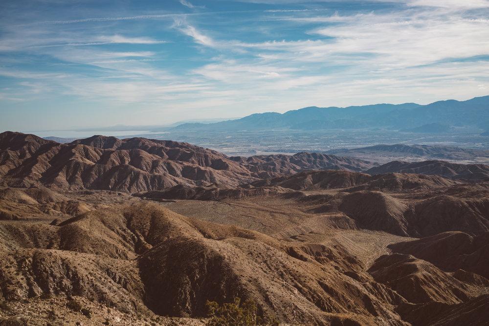 Keys View Joshua Tree