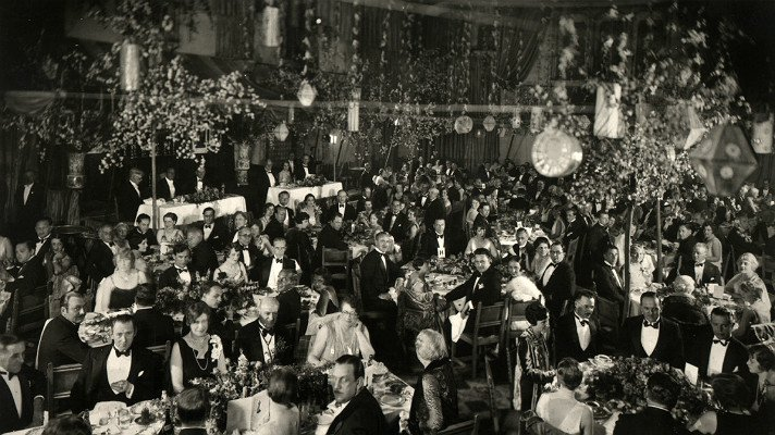 The first Academy Awards were held at the Hollywood Roosevelt Hotel.
