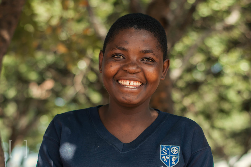 Doreen  - Doreen is very sporty and loves playing netball! Her favorite color is pink. Be her sponsor!