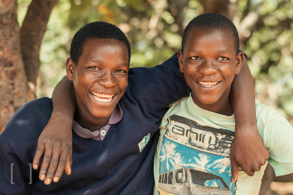 Misheck and Numeri - These brothers are inseparable best friends. Sponsor this duo for double the love and laughter!