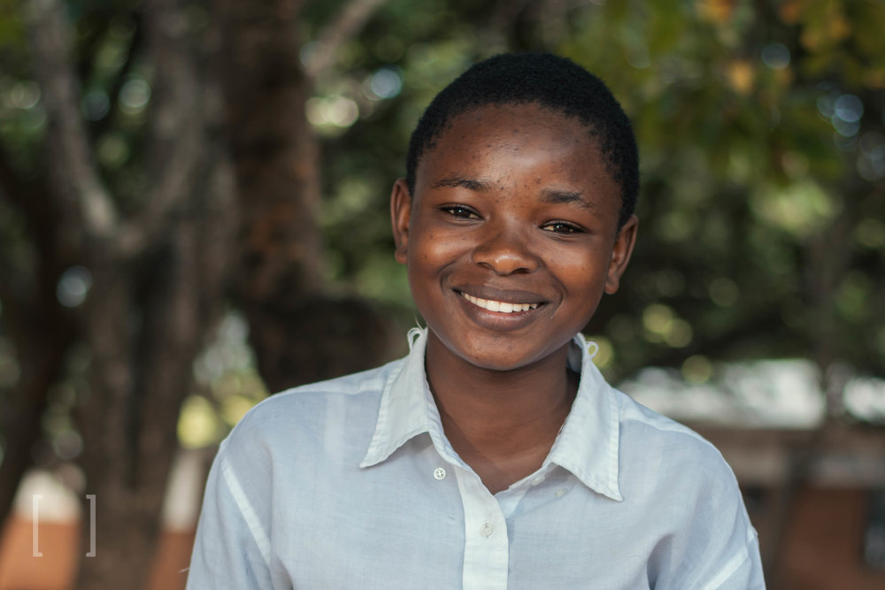 Getrude  - Getrude is very social and has many friends at Home of Hope, who are drawn to her kind and loving heart. Be a friend to Getrude and sponsor her today!