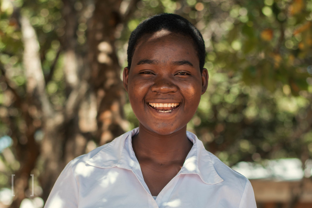 Lesina  - Lesina was born on 28 April 2000. Since the death of her father, life has not been the same for Lesina. However, she has been thriving since coming to Home of Hope and dreams of being a nurse in the future. Be a force for good in her life!
